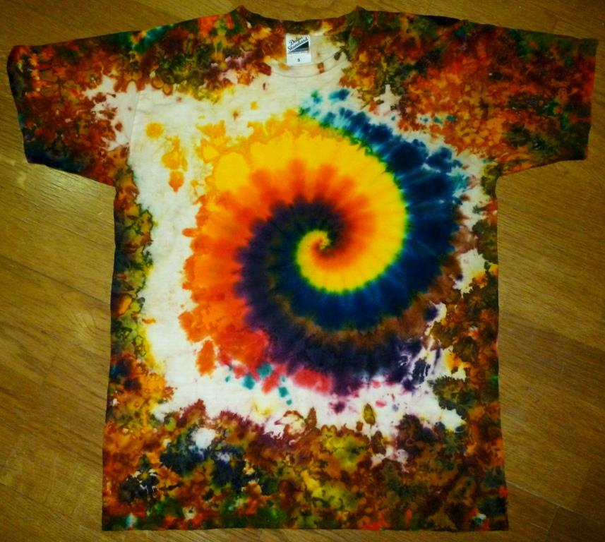 Tie dye hand made